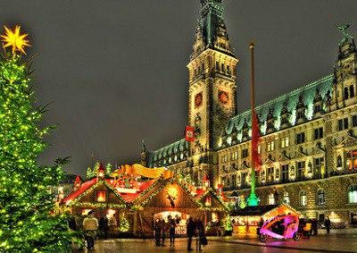 Weihnachtsmarkt, Hamburg