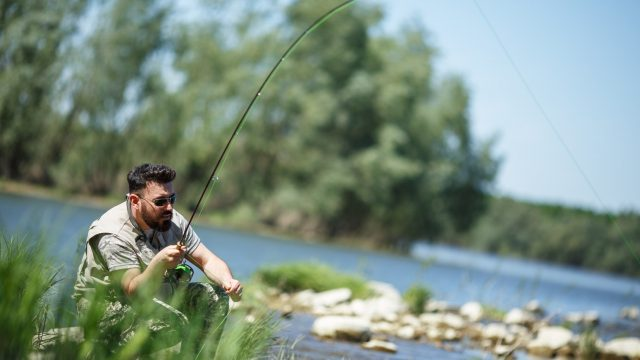 Fly fishing in Bosnia