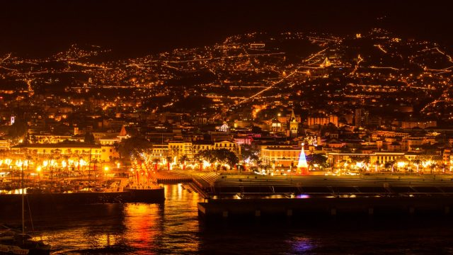 Winter in Madeira- Christmas lights