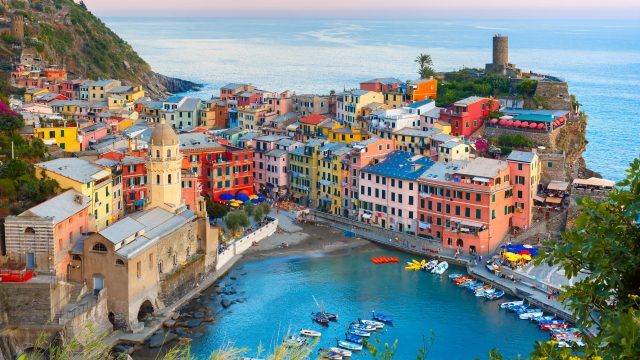 Uncovering the five towns of Cinque Terre