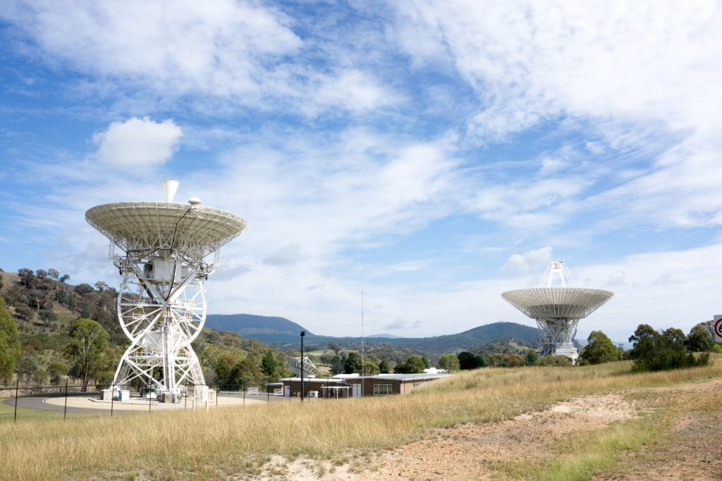Stargazing around the world- NASA Deep Space Communication Complex, Canberra, Australia