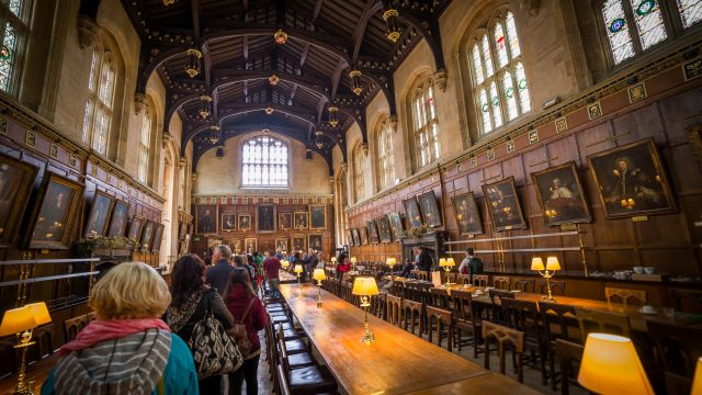 Movie sets & filming locations: Christchurch College, Oxford