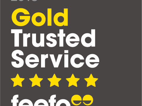 Zest Car Rental win Feefo Gold Trusted Service 2018